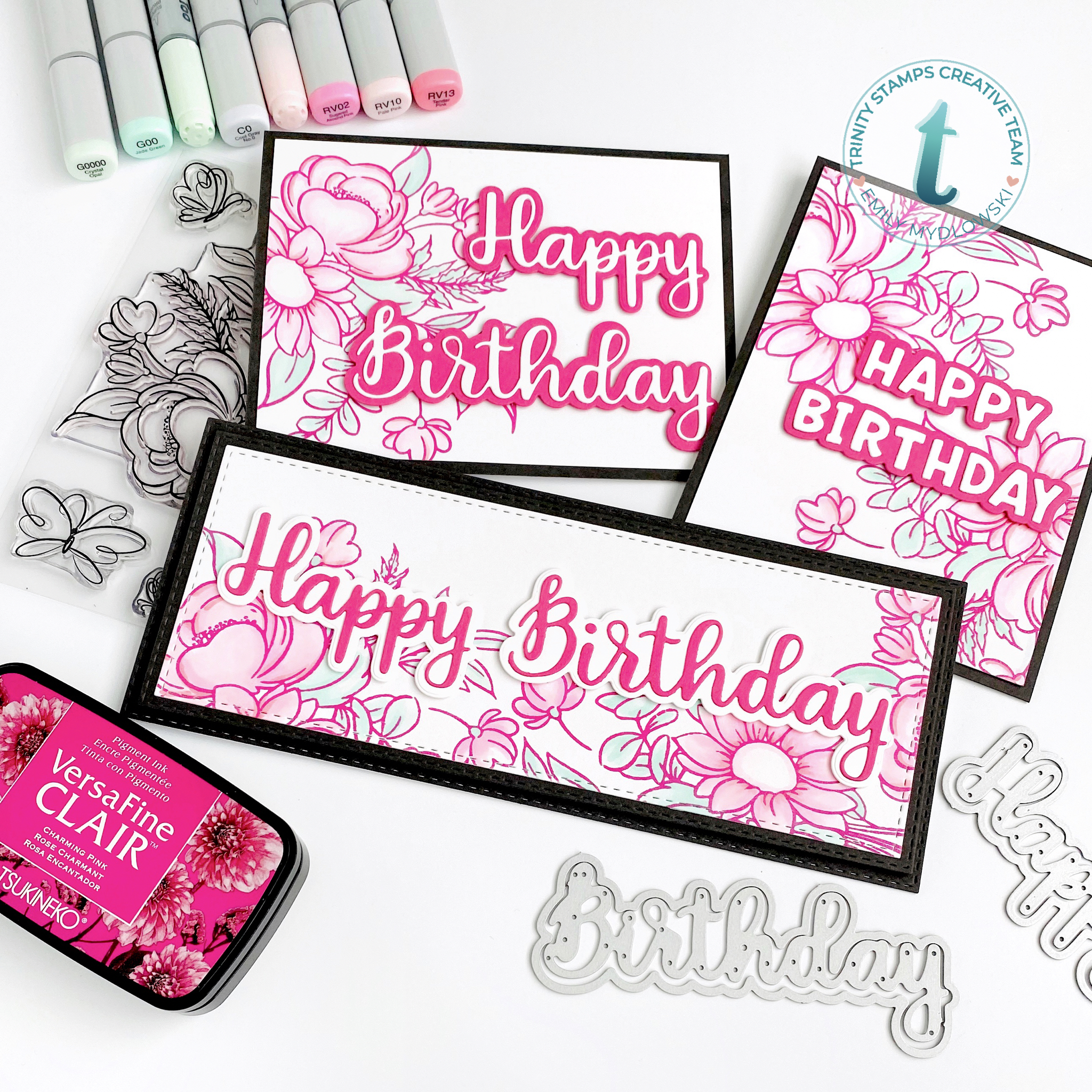 Trinity Stamps Blooming Bunch Stamp Set