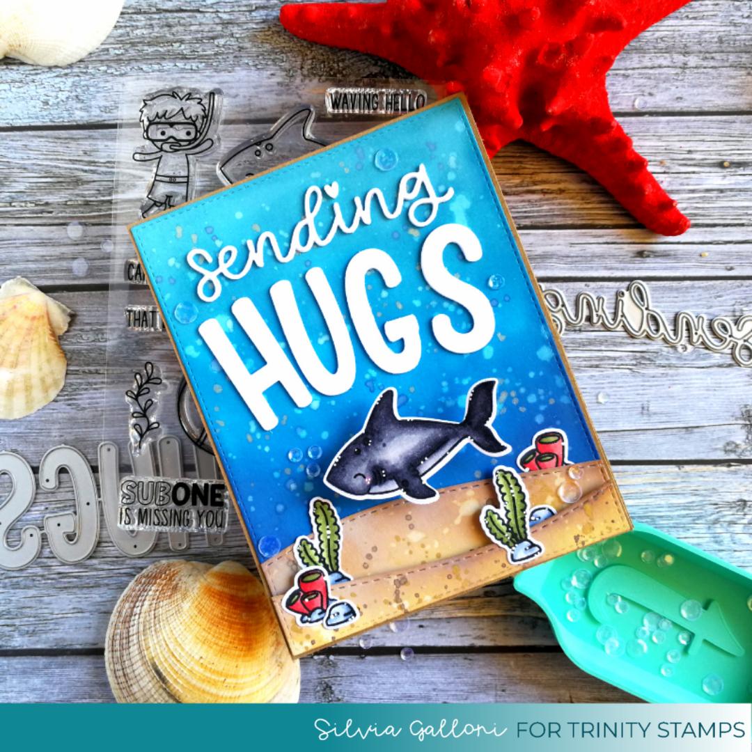 Sending underwater hugs