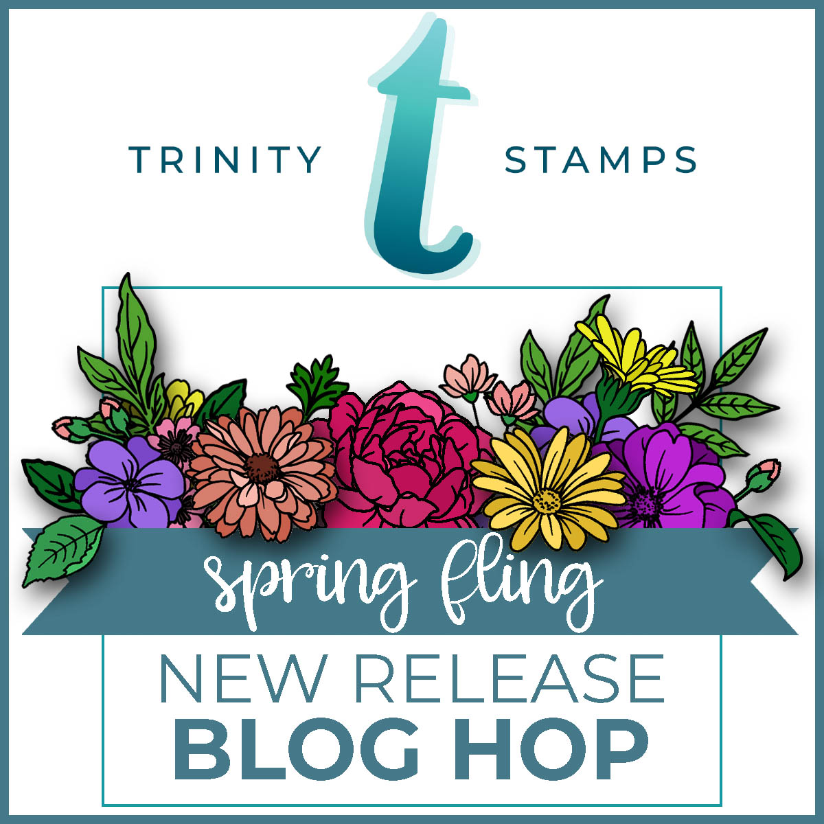 Spring Fling New Release Blog Hop! – Trinity Stamps