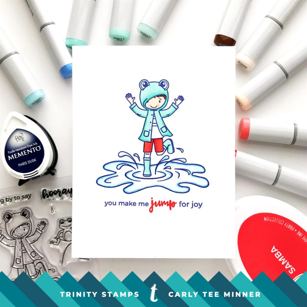 Trinity Puddle Jumpers Card by Carly Tee