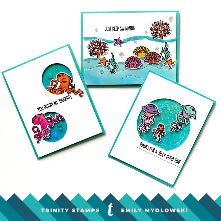 Ocean Reef Scene Builder – Trinity Stamps